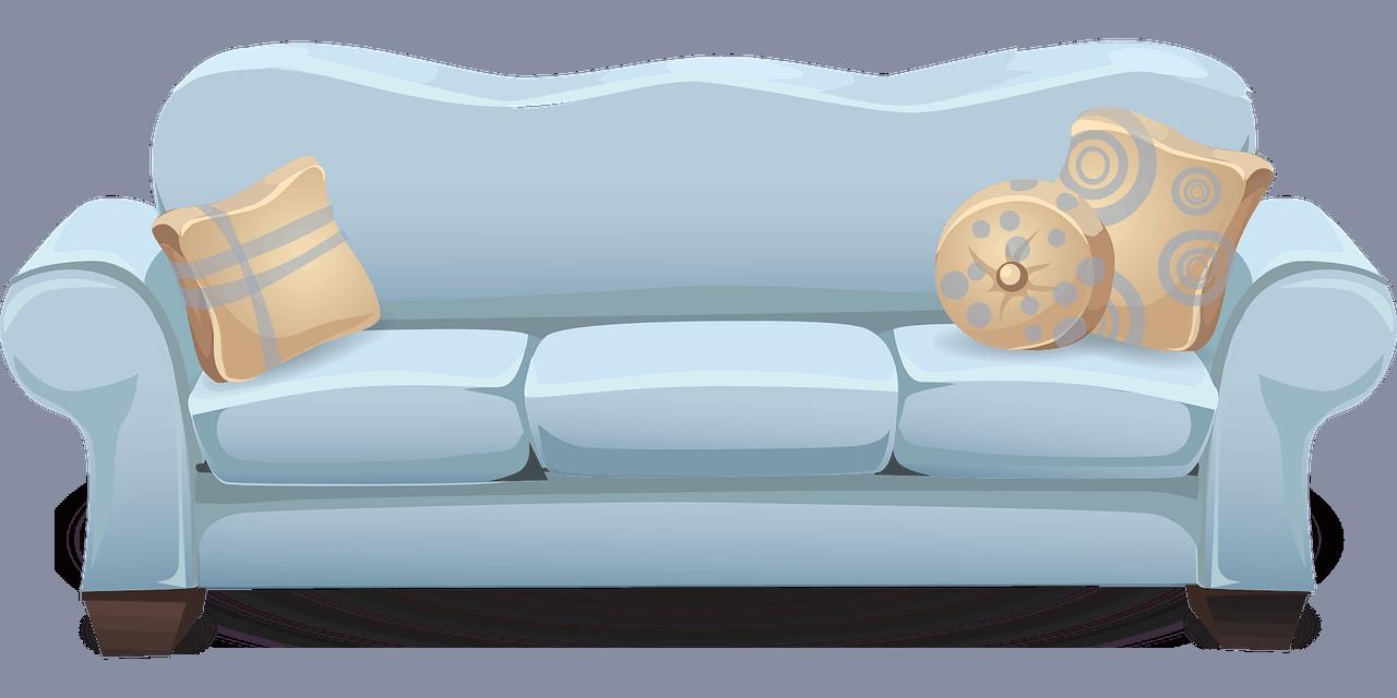 ספה מבד