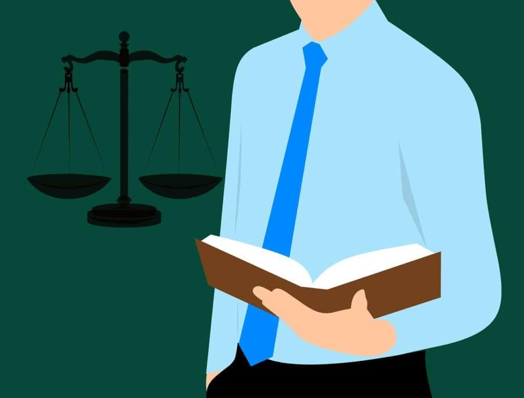 מאזניים ואיש חוק
