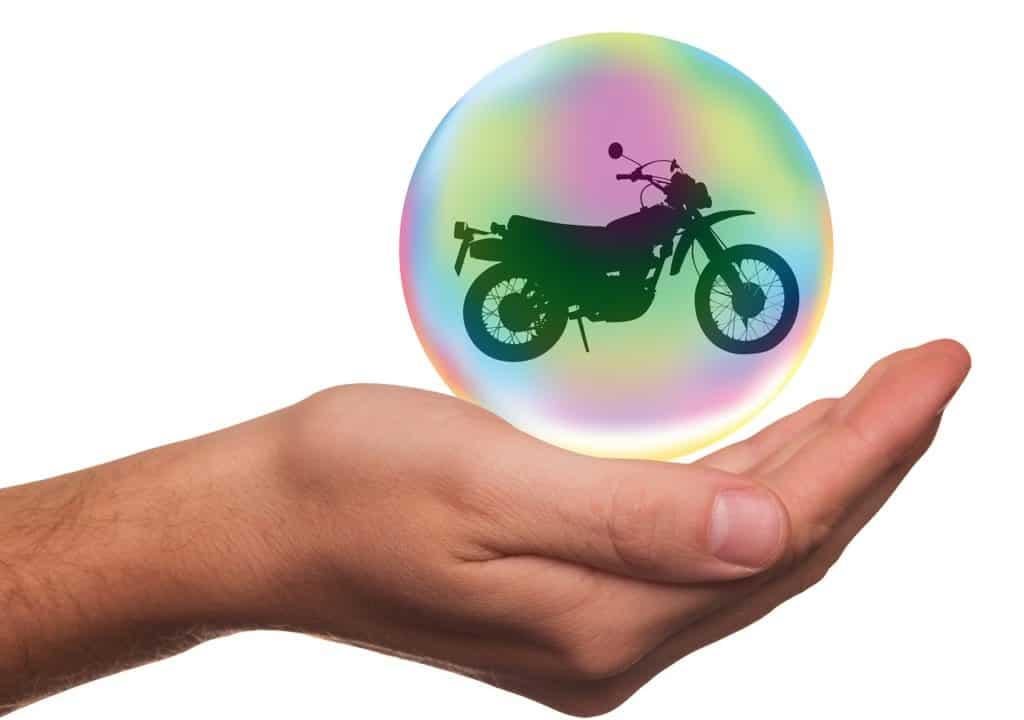 אופנוע מבוטח