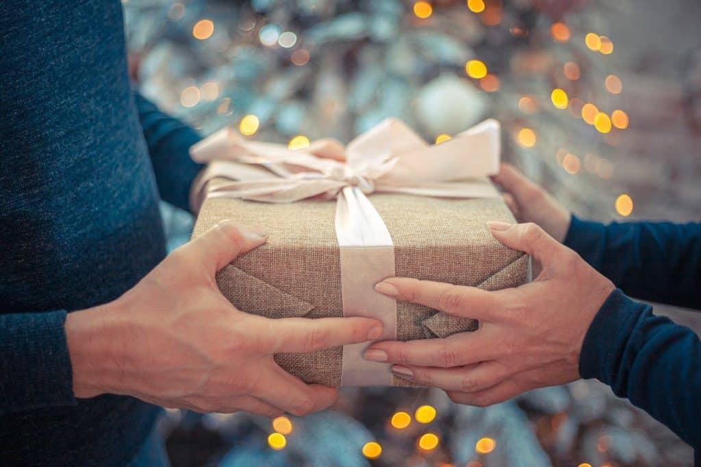 קבלת מתנה