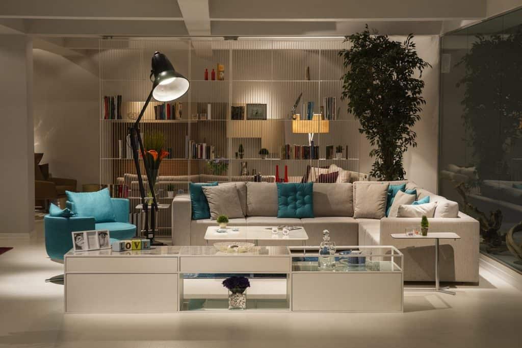 סלון בחנות רהיטים